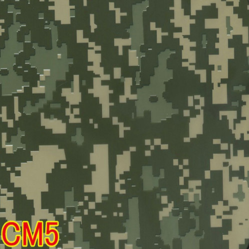 CM5カモフラージュ柄フィルム