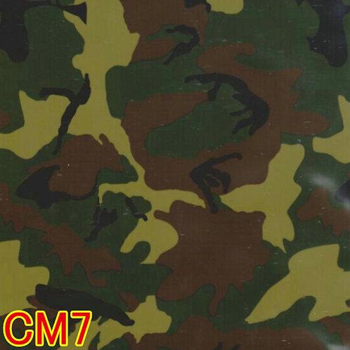 CM7カモフラージュ柄フィルム