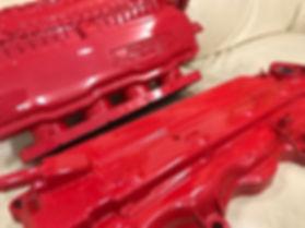レッドカーボン 水圧転写 ウッドスタッフジャパン 大阪 woodstuffjapan wartertransfer イージーグラフィック カーボン柄 ウッド柄 迷彩柄 フィルム転写 カモフラージュ ステッカーボム ウォータートランスファー