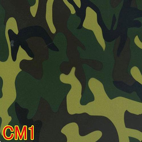 CM1カモフラージュ柄フィルム