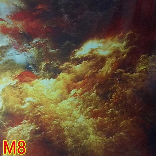 M8雲柄フィルム