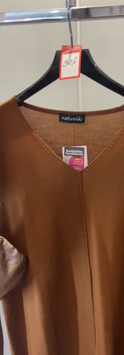 Merino Pullover Tabak SALE