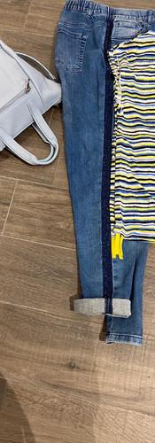 Frapp Shirt Via Appia Jeans  Ledertasche - Lady Su
