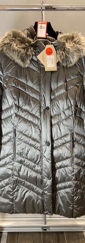 Wega Steppjacke silber grau -Lady Su