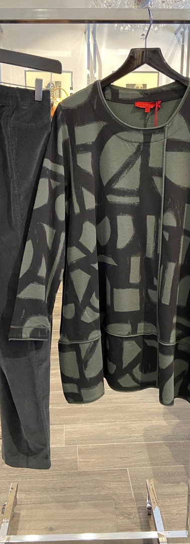 Vetono Sweatshirt Robellhose cord