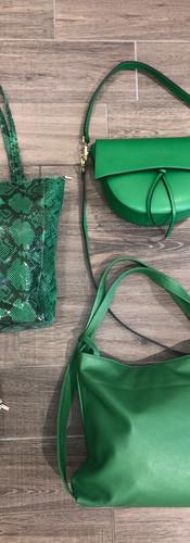 Ledertaschen grün - Lady Su