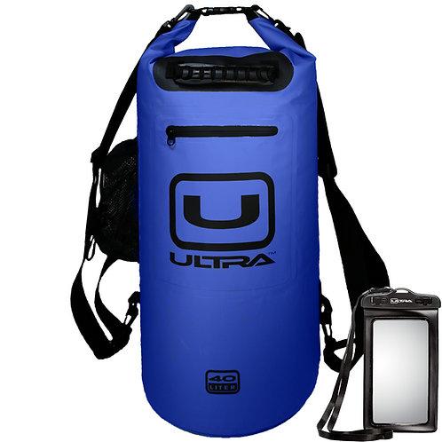 ULTRA Waterproof Dry Bag 40L - Blue - XL
