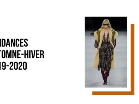 Tendances Automne-Hiver 2019 2020