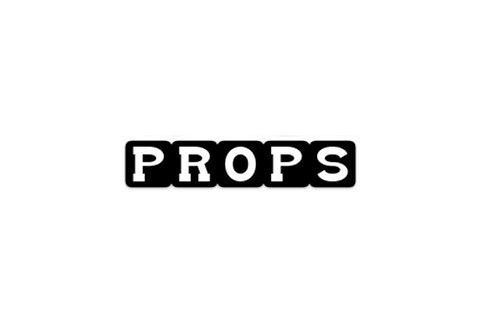 Props (5in sticker)
