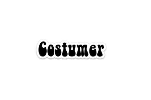 Costumer (5in Sticker)