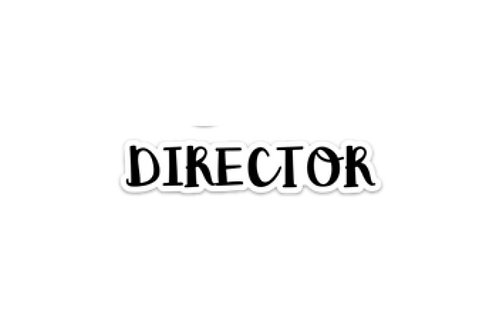 Director (5in Sticker)