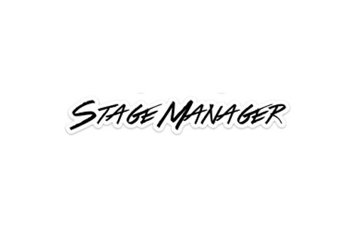 Stage manager (7.5in Sticker)