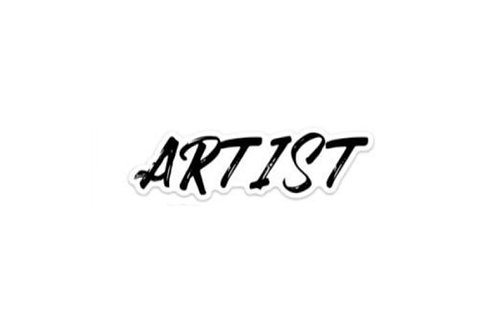 Artist (3in Sticker)