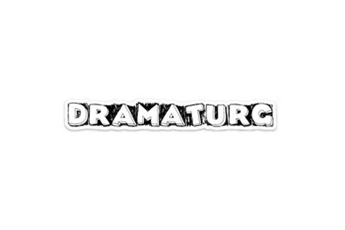 Dramaturg (7in Sticker)