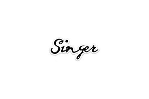 Singer (5in Sticker)
