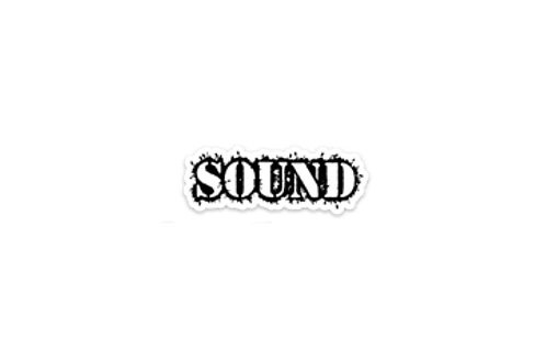 Sound (3in Sticker)