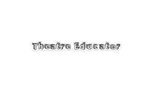 Theatre Educator (9.5in Sticker)
