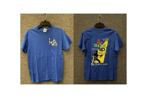 All Shook Up (Blue) (Short Sleeve)
