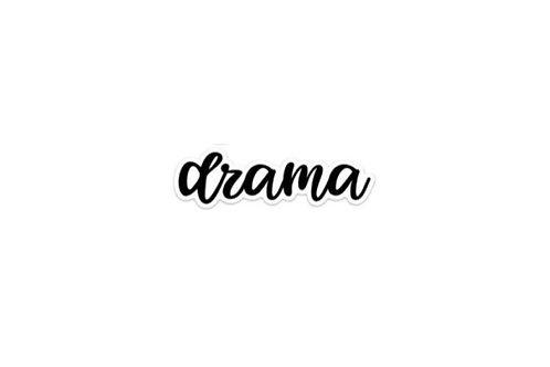Drama (5in Sticker)