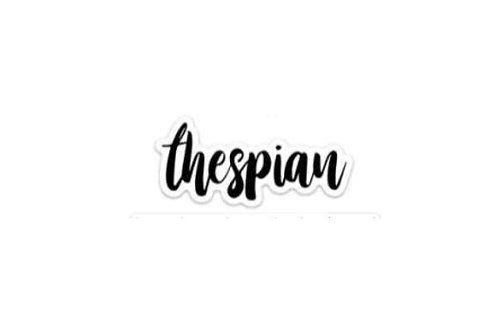Thespian (5in Sticker)
