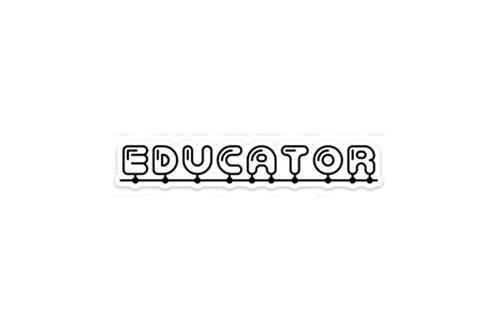 Educator (6in Sticker)