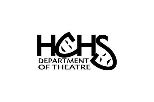 HCHS Department of Theatre (7in Sticker)
