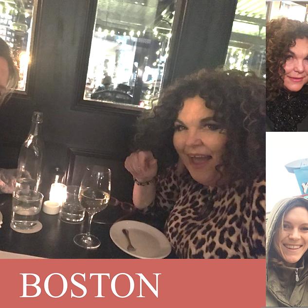 Boston Vicki with Lily