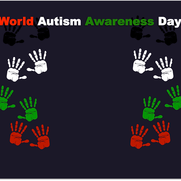 Vicki and her grandson, Jimmy have a message for National Autism Awareness Day