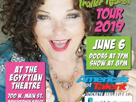 Vicki Barbolak  The comedian on the shoe-licker of Ybor, Mitzi Shore and owning a mobile wedding van