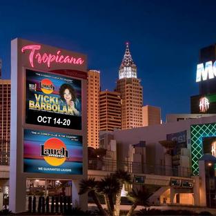 Vicki returns to Las Vegas