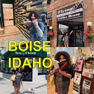 Vicki in Boise for her show! Sponsored b