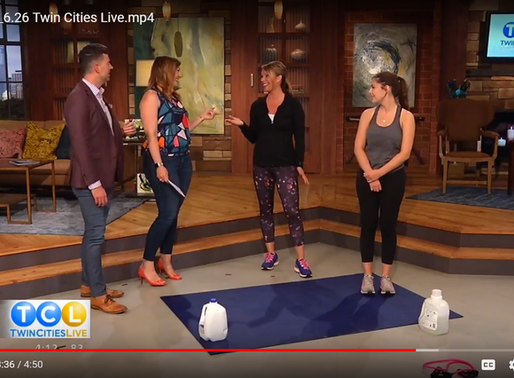 NO time?  Quick workouts you can do anywhere!  As seen on Twin Cities Live!!!