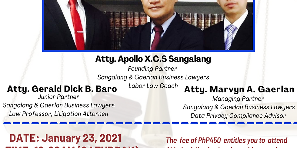 Force Majeure (Fortuitous Event) as Legal Defense - Ask The Business Lawyers Legal Webinar (January 23, 2021)