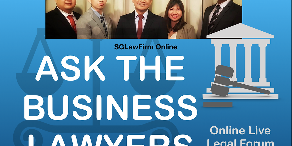 Ask The Business Lawyers - Edited 09 June 2020