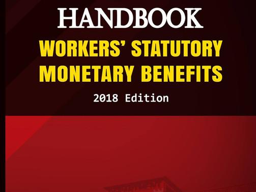 DOLE issues 2018 Edition of Handbook on Workers' Statutory Monetary Benefits