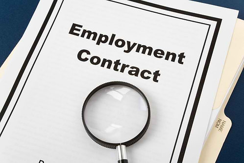Employment Contract Template (Updated)