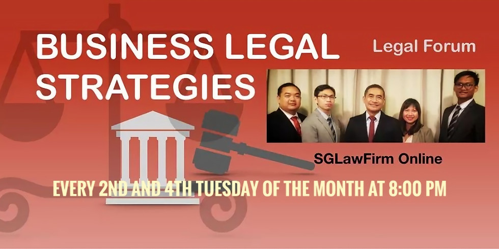 Business Legal Strategies - November Episode 1