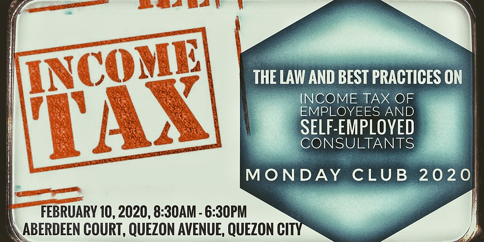 The Law and Best Practices on Income Tax of Employees and Self-Employed Consultants