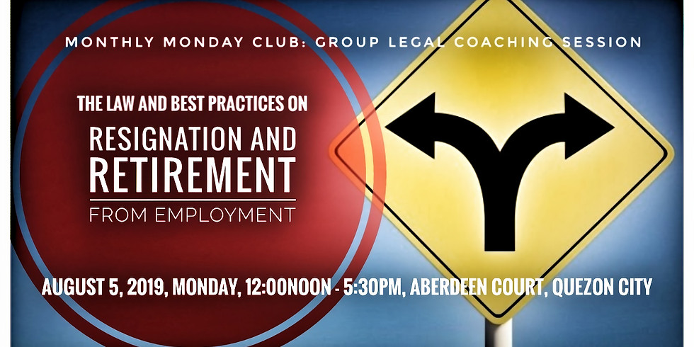 The Law and Best Practices on Resignation and Retirement from Employment