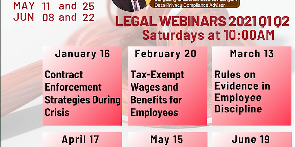 Tax-Exempt Wages and Benefits for Employees - Business Legal Strategies Legal Webinar