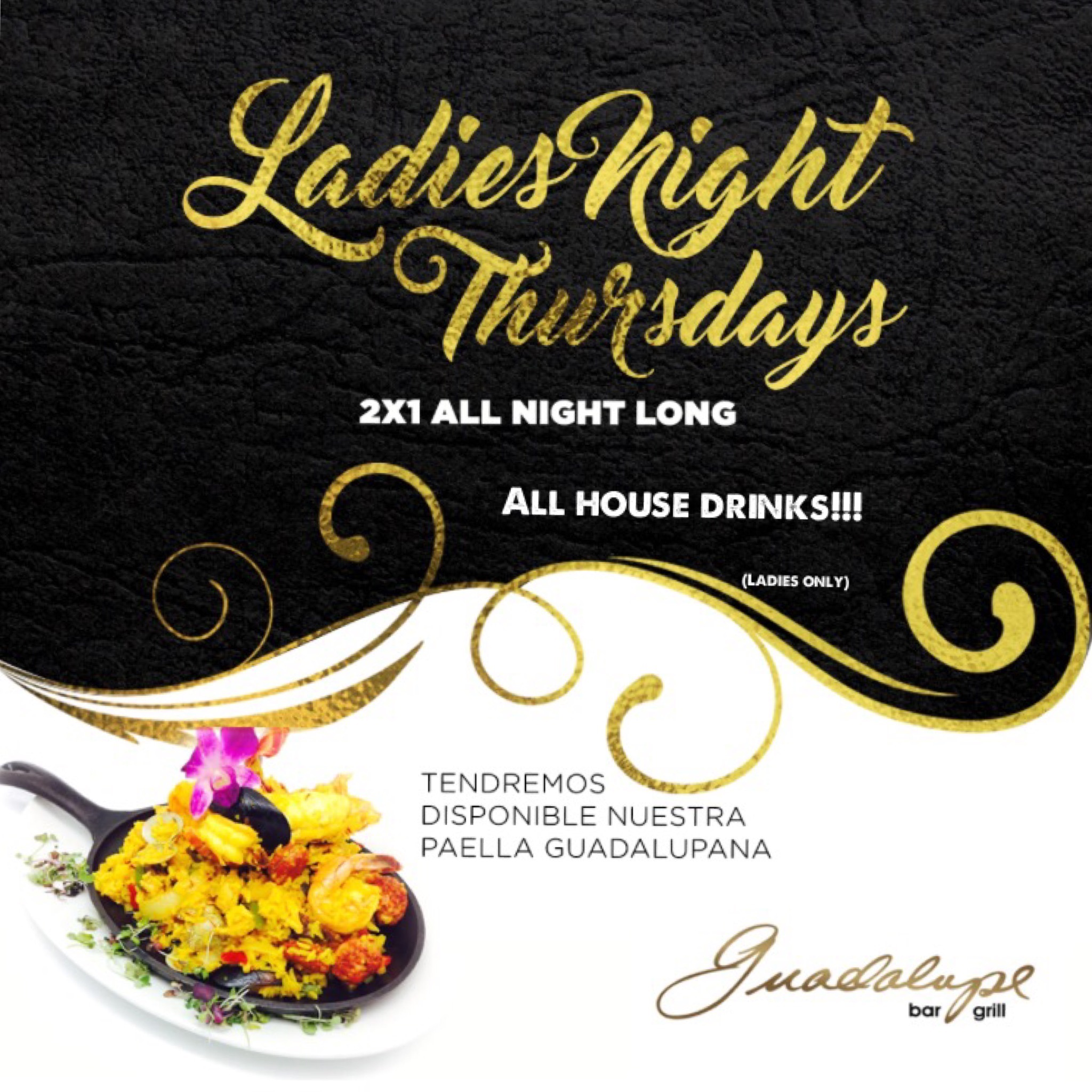 2x1 ladies night