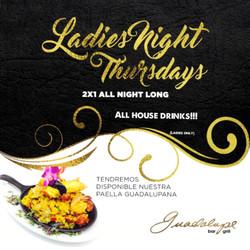 2x1 ladies night