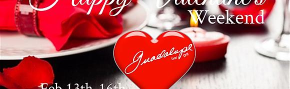 Valentine's weekend Specials!!