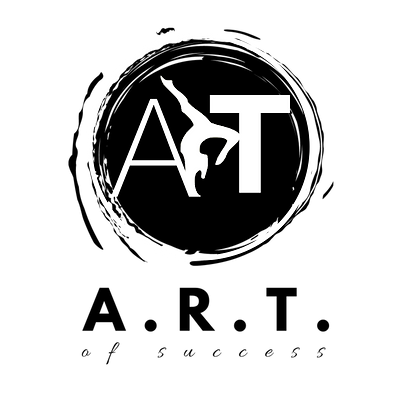 A.R.T of success logo - white background