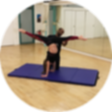 Nadia Handstand split circle icon.png