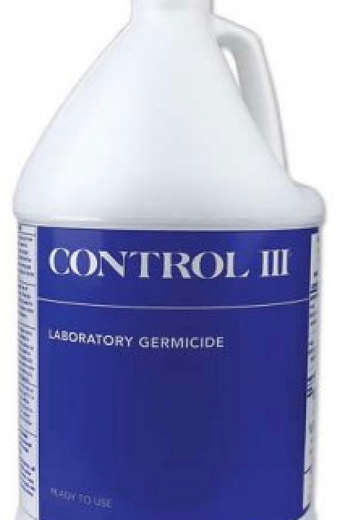 Control III -Quickly and effectively kills a wide range of bacteria and viruses,