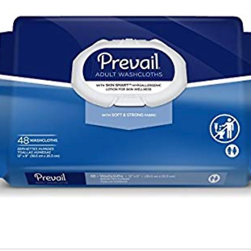 Prevail wipes 48 count