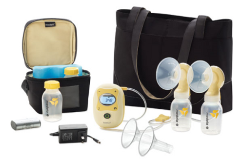 Freestyle double electric breast pump with 2-Phase Expression® Technology