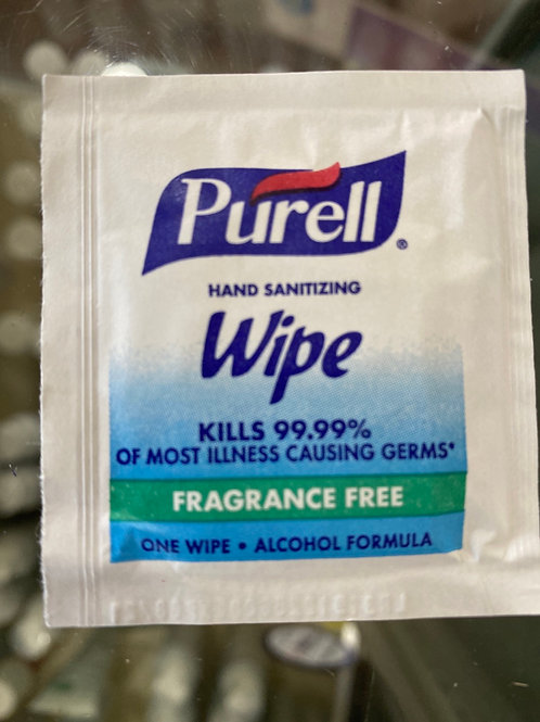 Purcell wipes