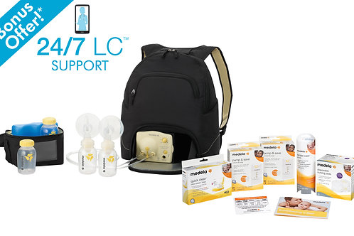 The Pump In Style Advanced Backpack breast pump